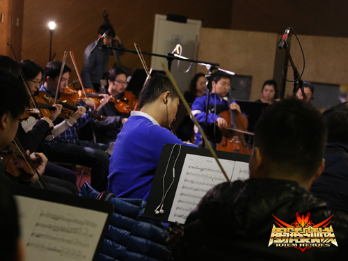 配图3:光盒力量重金聘请了中国国家交响乐团现场实录动画片中的管弦乐演奏。